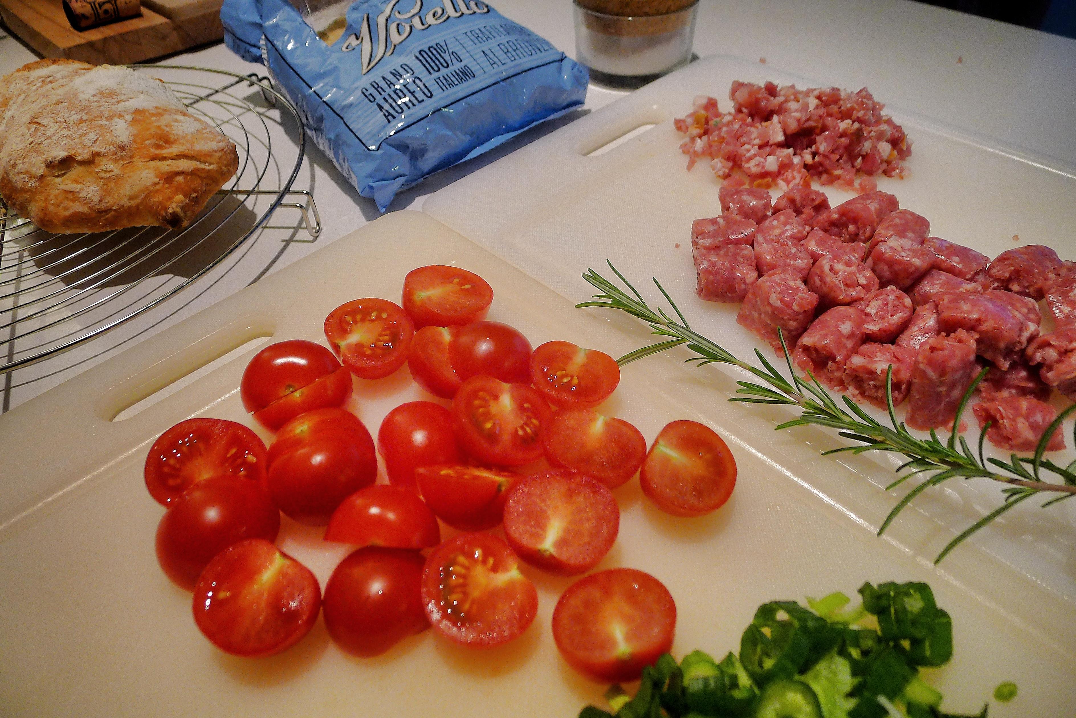 Orecchiette alla Salsiccia